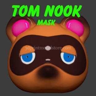 Animal Crossing New Horizons Tom Nook Mask