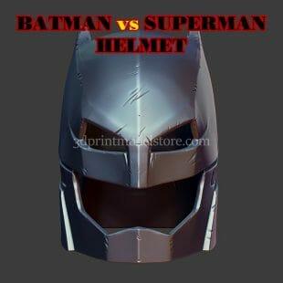 DC Comics Batman Helmet 3D Print Model