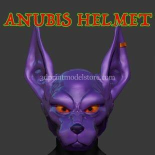 Anubis Cosplay Helmet 3D Print Model