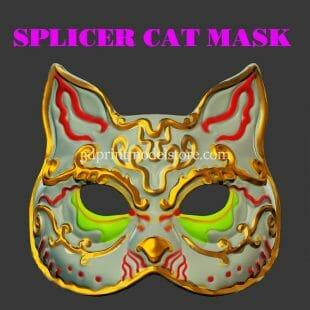 Bioshock Spider Splicer Kitty Mask