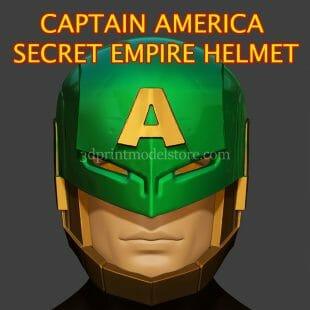 Captain America Hail Hydra Helmet 3D Print Model