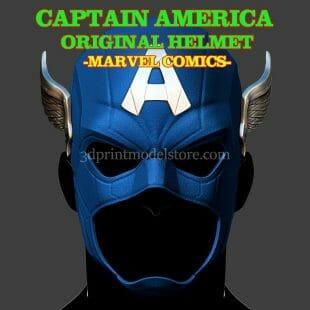 Captain America Helmet Original