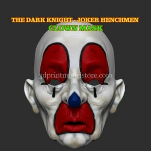 Joker Henchmen Adult Clown Mask
