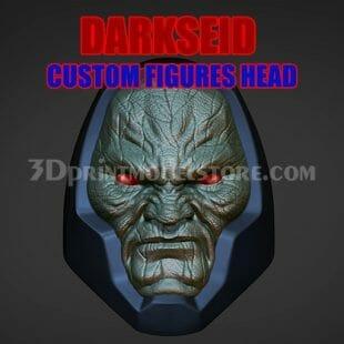 Darkseid Custom Action Figures Head