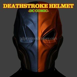 DC Comics Deathstroke Helmet 3D Print Model