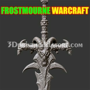 Frostmourne from Warcraft 3D Print