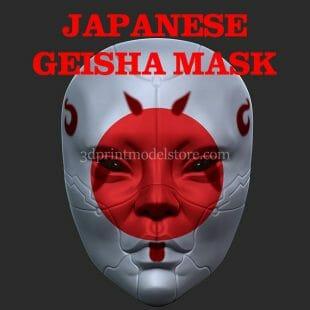 Japanese Geisha Mask