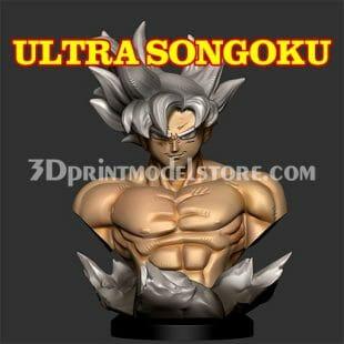 Son Goku Ultra Instinct 3D Print Model