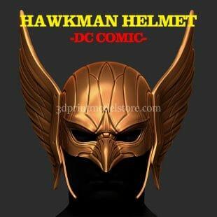 DC Comics Hawkman Helmet 3D Print Model