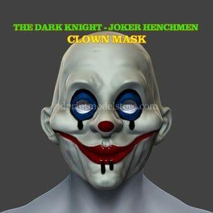 Henchmen Adult Clown Mask