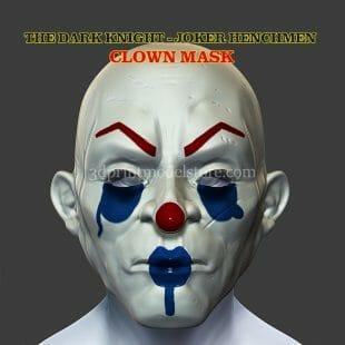 Henchmen Adult Clown Mask 3D Print