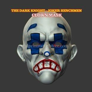 Adult Clown Mask 3D Print Model