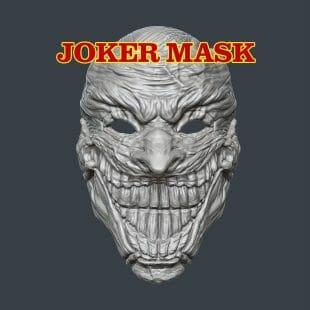 Death of the Family Joker Mask 3D Print Model