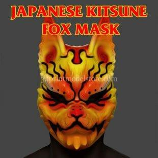 Japanese Demon Kitsune