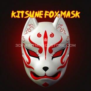 Japan Demon Kitsune Fox Mask
