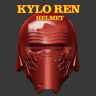 Kylo Ren Helmet 3D Print Model