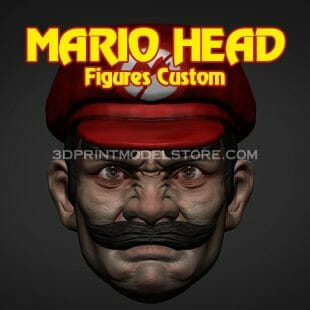 Mario Head Custom Figures