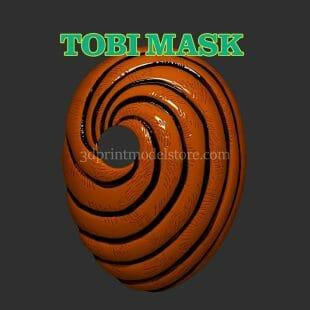 Naruto Tobi Mask 3D Print Model