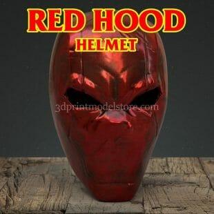 Red Hood DC Comics Helmet 3D Print Model