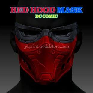 DC Comics Red Hood Cosplay Mask
