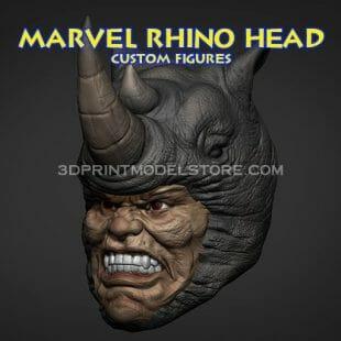 Marvel Rhino Head Sculpt