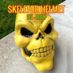 Skeletor Helmet 1980 He-Man