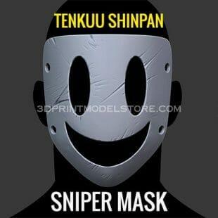 tenkuu shinpan sniper mask