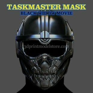 Taskmaster Helmet 3D Print Model