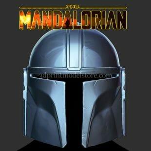 The Mandalorian Helmet 3D Print Model