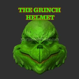 The Grinch Helmet 3D Print Model