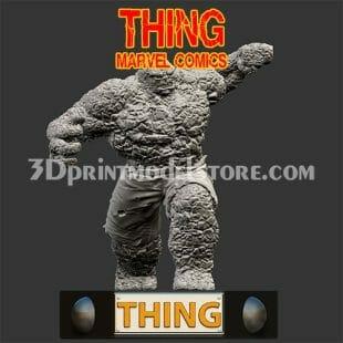 Marvel Thing 3D Print Model