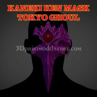 Tokyo Ghoul Kaneki Ken Cosplay Mask