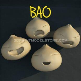 bao cartoon 3d print model