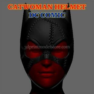 DC Comics Catwoman Cosplay Helmet