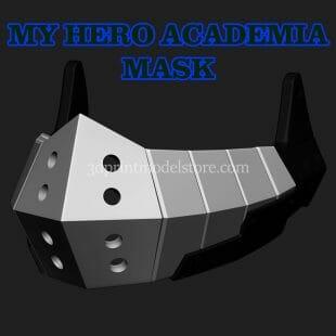 Boku no Hero Academia Deku Mask 3D Print Model