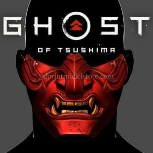 Ghost of Tsushima Mask 3D Print Model