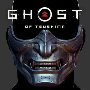 Ghost of Tsushima Oni Samurai Mask