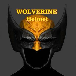 Marvel Wolverine Helmet 3D Print Model