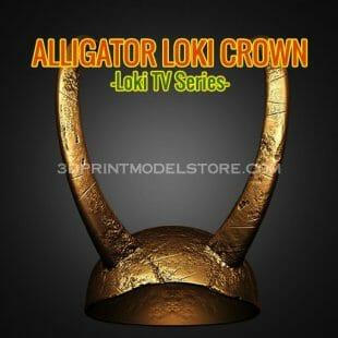 Alligator Loki Helmet Broken