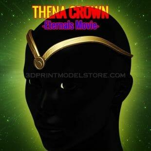 Eternals Thena Crown 3D Print Model