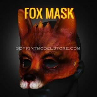 Fox Mask 3D Print Model
