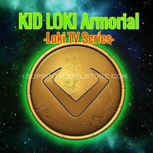 Kid Loki Armorial Cosplay