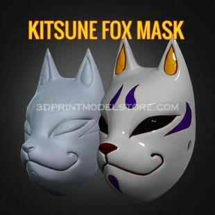 Kitsune Fox Mask Japanese
