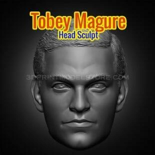 Tobey Maguire Head Sculpt