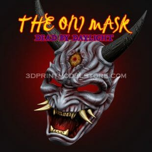 The Oni Mask 3D Print Model