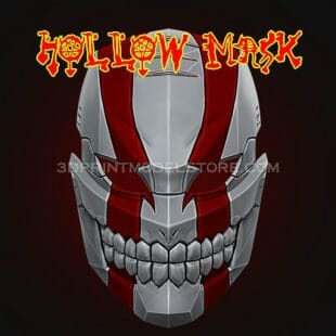 Hollow Mask 3D Print Model
