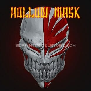 Ichigo Hollow Mask 3D Print Model