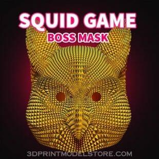 squid game boss mask