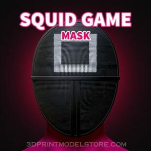 Squid Game Soldier Mask