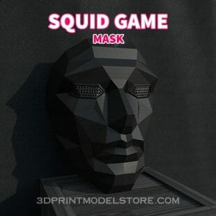 Squid Game Mask - Front Man